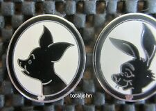 Disney DLR - 2009 Hidden Mickey Series - Winnie the Pooh Piglet & Rabbit Pins