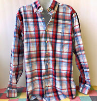 Vineyard Vines Whale Shirt Button Down Long Sleeve TUCKER Mens Medium Slim