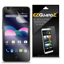 3X EZguardz LCD Screen Protector Skin Cover Shield 3X For ZTE Obsidian (Clear)