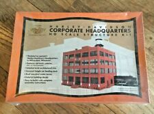 Harley-Davidson 99262-00Z Corporate Headquarters HO Scale Structure Kit New