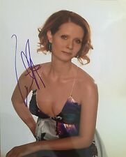 Cynthia Nixon Signed 10x8 Photo  - Sex and the City