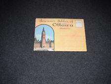 1930's Souvenir Postcard Folder Ottawa Ontario Canada