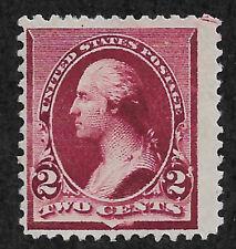 US # 219D (1890) 2c MNG - Fine EFO: w/ Guide Line Arrow 1/400