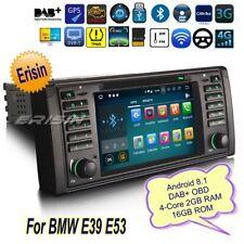Android 8.1 DAB+ BMW Autoradio 5er E53 E39 X5 M5 Navigatore Bluetooth TPMS 3839I