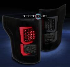 2015-2016 FORD F-150 F150 PICKUP LED TUBE TAIL BRAKE LIGHT REAR LAMP BLACK/SMOKE