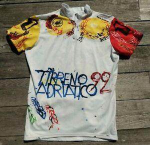 Mario Shifano Castelli Vintage Cycling Jersey- Tirreno Adriatico 1999 Large