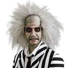Beetlejuice Adult Wig Movie Beetle Juice Hair Michael Keaton Beatle Mens Costume