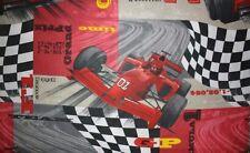 OTTIMO cotone Ralley formula 1 auto da corsa auto metraggio NUOVO!
