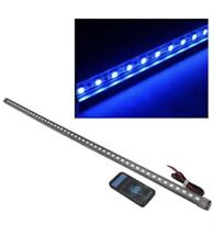 48 LED 5050 Impermeable Flash Knight Rider Tira Luces Coche con Control Remoto 56 Cm Azul