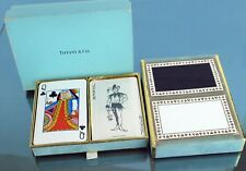 Authentic TIFFANY & Co. Logo 2 set Trump Collection w/ BOX