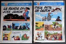 IL CORRIERE dei PICCOLI  Lucky Luke  anni 60 LOTTO 2 ALLEGATI >>> Occasione !!!