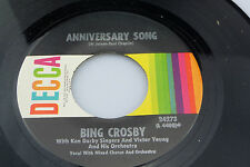Bing Crosby: Anniversary Song / Happy Birthday / Auld Lang Syne  [Unplayed Copy]