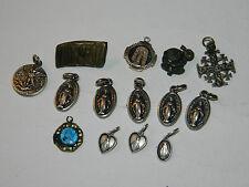LOT ancien medaille miraculeuse MARIE vierge MARIA JERUSALEM MEDAL notre dame