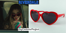 FREE WW SHIP RiverDale TVShow Mrs Grundy HEART Sunglasses Costume Cosplay Archie