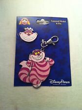 Cheshire Cat Medal And Pin Set