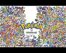 Pokemon Poster Anime Wall Print Art Decoration Home Decor 16x20
