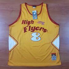 NEW Vintage High Flyers Basketball Stall & Dean Rucker Jersey (Mens 56) Original