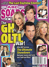 ABC Soaps In Depth Magazine March 19 2012 General Hospital Vs. One Life to Live
