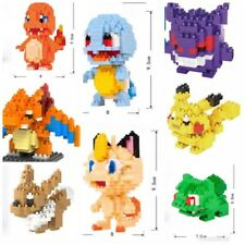 Pokemon Nano Bricks Collection - Choice of 8 Characters - Tiny Blocks - NEW