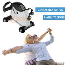 CYCLETTE PEDALIERA GINNASTICA ATTIVA RIABILITAZIONE TERAPIA CASA BRACCIA GAMBE
