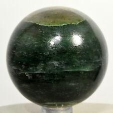 "2"" Green Jade Nephrite Sphere Natural Jadeite Crystal Polished Stone - India"