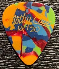 MOTLEY CRUE #2 TOUR GUITAR PICK