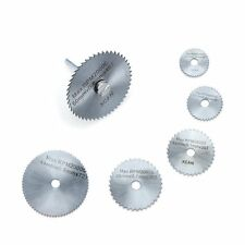 7pc HSS Circular Saw Disc Set for Wood Mini Drill Rotary Tool Cutting Blade