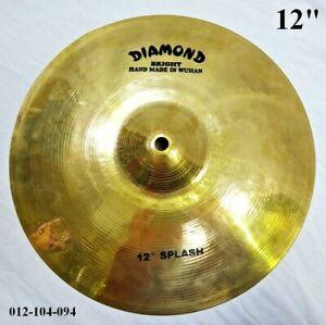"DIAMOND 12"" Bright Splash Cymbal - Hand Made In Wuhan 012-104-094"