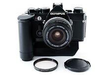 Olympus OM-1N Camera w/ G Zuiko Auto-w 28mm f/3.5 Lens+Winder from JAPAN [Exc++]