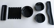 2002 03 04 05 06 07 CHEVY TRAILBLAZER CUP HOLDERS RUBBER INSERT 6PC CONSOLE USED