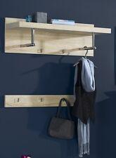 Elegance Garderoben-Paneel Space Wandregal Wand-Board Braun Eiche NEU!