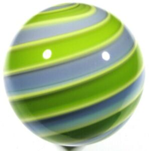 """Hot House Glass banded swirl marble 1.53"""" 39mm #143"""