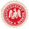 (I.B-CK) Germany (Great War) Cinderella : Berlin War Correspondent Seal