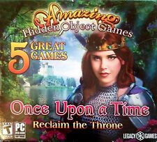 Amazing Hidden Object Games 5 Pack: Once Upon a Time - Reclaim the Throne PC