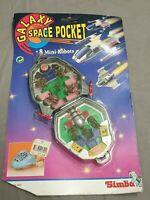Galaxy Space Pocket Mini Robots Playset - Galaxy War Striker - Nrfb Mosc / Simba