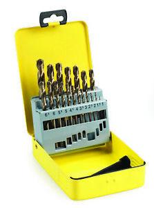 Addax Cobalt Jobber Drill Set 19 Pieces 1mm-10mm