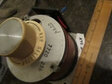 GENERAL RADIO  VARIAC  type W5   120V  6A  60 Hz  #268