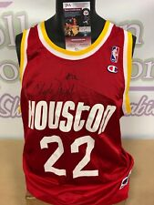 6cbb8c192b1 Clyde Drexler Signed Houston Rockets Jersey (JSA) NBA Champion 10 X NBA All  Star