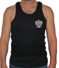 Polish Eagle Poland coat of arms polska man muscle sleeveless tank top shirt o
