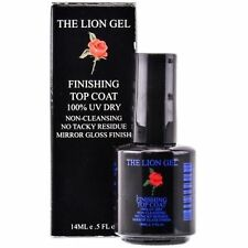 The Lion Gel - Finishing Top Coat - 0.5 oz