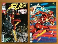 Flash 53  2018  Dan Mora Main Cover + Jonboy Meyers Variant Cover DC NM