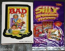 SILLY SUPERMARKET LIKE WACKY PACKAGES COMPLETE 30 CARD STICKER SET SERIES 3