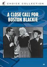 CLOSE CALL FOR BOSTON BLACKIE (B&W) Region Free DVD - Sealed