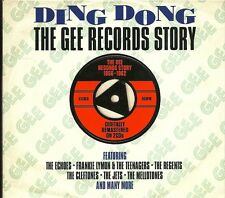 DING DONG THE GEE RECORDS STORY 1956 - 1962 - 2 CD BOX SET - THE ECHOES & MORE