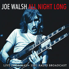 JOE WALSH of THE EAGLES New Sealed 2017 UNRELEASED 1981 SOLO CONCERT CD