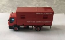 SOLIDO CAMION DE POMPIERS 1/50 RENAULT POSTE DE COMMANDEMENT