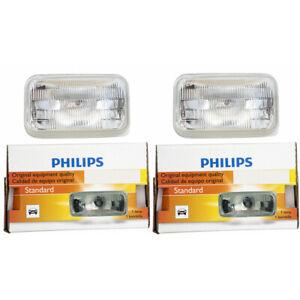 2 pc Philips Low Beam Headlight Bulbs for Pontiac Firebird Sunbird 1986-2002 dn