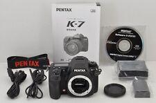 PENTAX K-7 14.6MP Digital SLR Camera Black Body #170424d