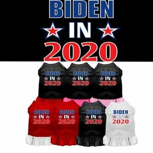 Biden in 2020 Election Screen Print Dog Pet Cat Puppy Dress