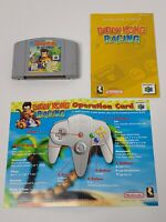 Diddy Kong Racing (Nintendo 64, 1997) Authentic With Manual and Insert Tested